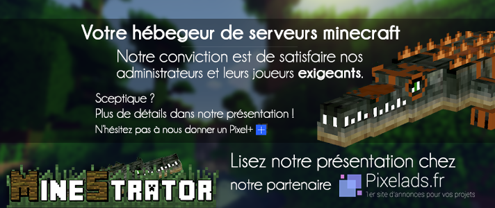 Logo officiel MineStrator