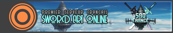 Serveur Minecraft Sword Art Online France